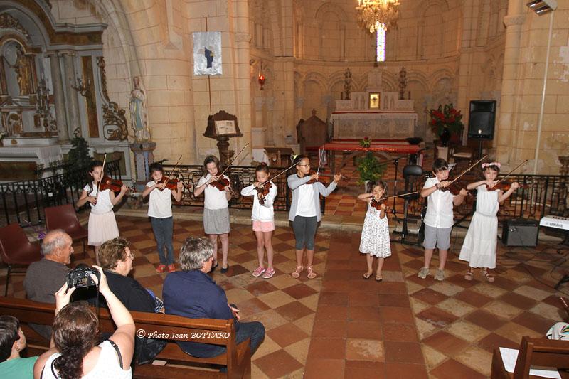 Audition des violonistes - Eglise d'Avensan - 02 juin 2018