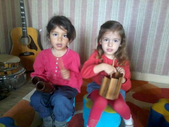 éveil musical Mathilde BP2