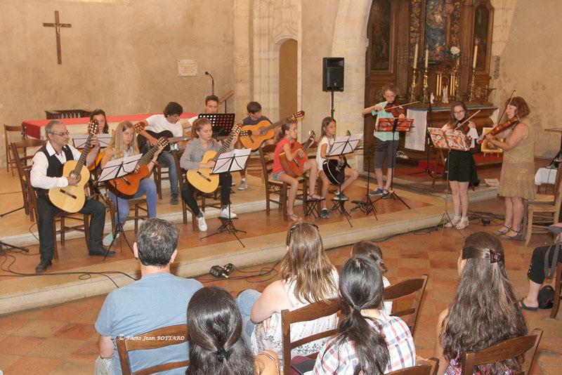 SCAPADES 2017 - violon et guitare église