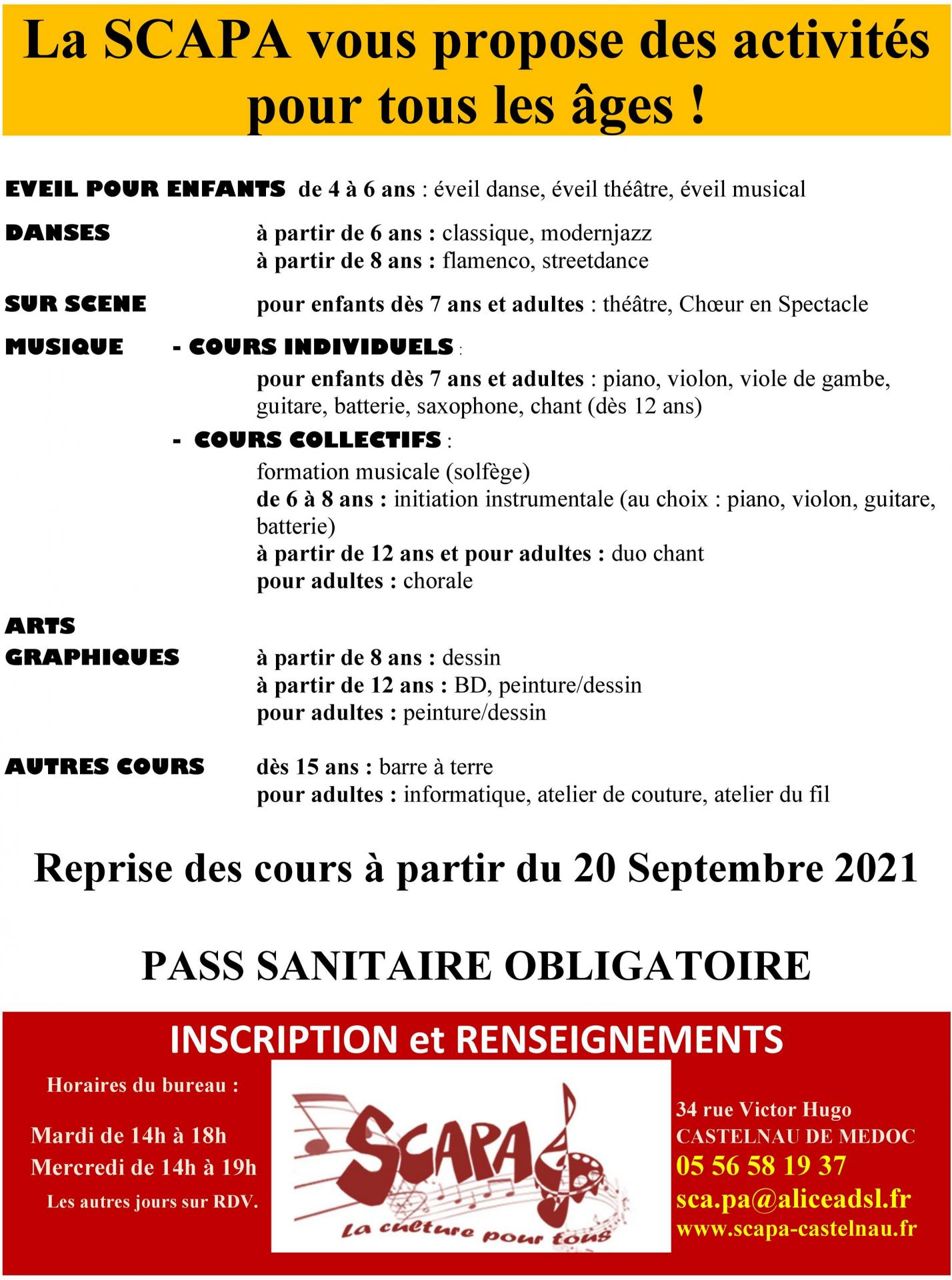 Affiche rentree 2021 page 2