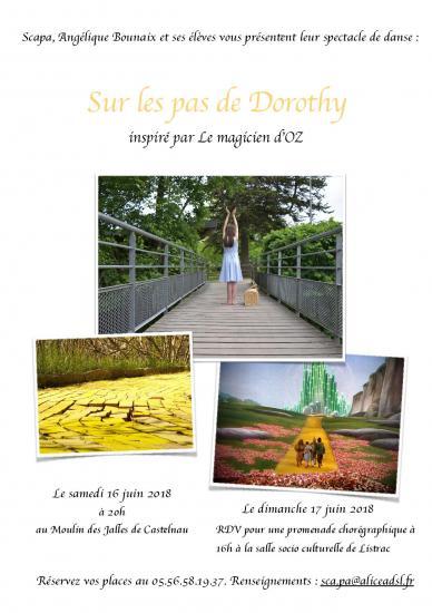 Affiche sur les pas de dorothy page 001