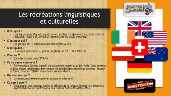 Flyer langues scapa 2016