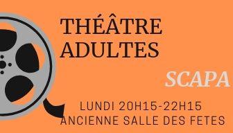Flyer theatre adulte recto