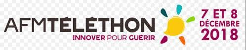 Logo telethon 2018 complet